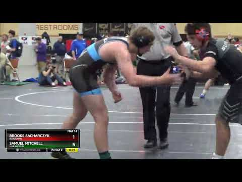 High School (11th - 12th Grade) 195 Samuel Mitchell Marshfield Vs Brooks Sacharczyk Blackman
