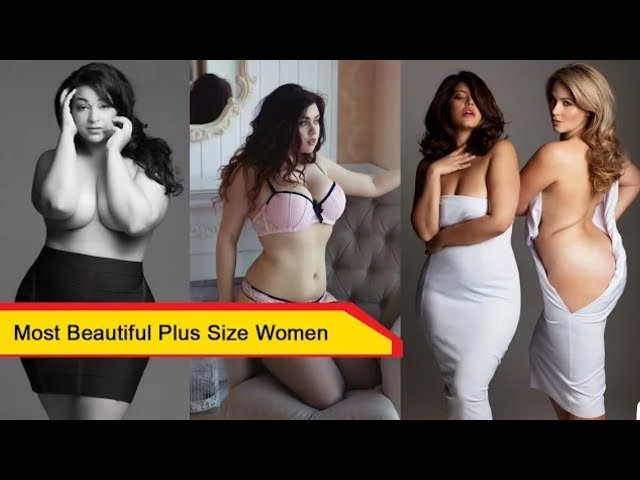 Most Beautiful Plus Size Women   Cute Fat Women You will fall in love with