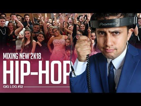 DJ GIG LOG: Mixing (2K18) Hip-Hop at a Sweet 16