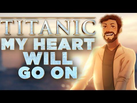 My Heart Will Go On [Lyrics] - TITANIC - Celine Dion (Cover By Caleb Hyles)