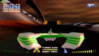 MagForce Racing Gameplay Single Race (Dreamcast)