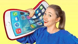 8 Seltsame Stress-Abbauer! Riesige Squishy Gadgets!