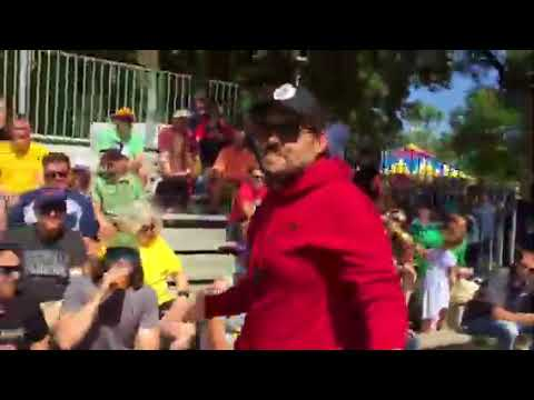 The Common Man - Meatsauce vs Rube - Kids Golf Classic at the 2018 MN State Fair | KFAN