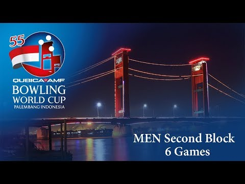 55th QubicaAMF Bowling World Cup - Men Second 6 Games