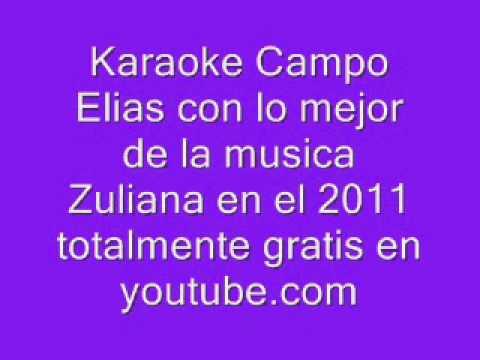 Karaoke segundo plato Voz Veis