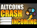 ALTCOINS CRASHING!? - Let's Talk! - THE BEST ENTRY POINTS ARE COMING! Altcoins 2021 CRASH!