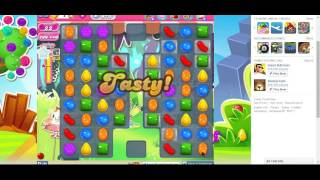 Candy Crush Saga Level 975 Completed