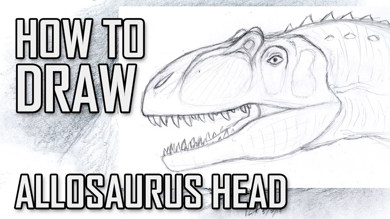 learn how to draw eye of a t.rex