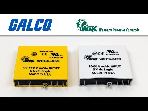 Western Reserve Controls WRC4 Series Discrete I/O Modules