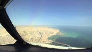A320 Landing at Doha Int