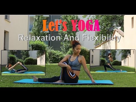 let's yoga  relaxation and flexibility for beginner