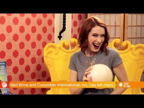 REALLY insulting interview about Felicia Day's book!