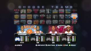 NBA JAM: On Fire Edition Roster Update (1-24-13)