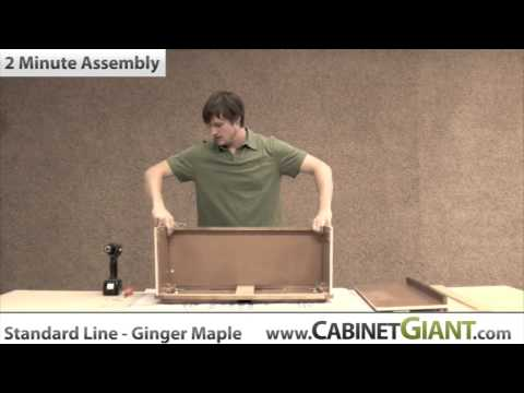 2 Minute Kitchen Cabinet Assembly Cabinet Giant High Quality Kitchen  Cabinetry Cheap Prices