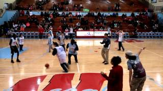 Wayne High School Special Olympics basketball first time