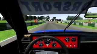 GT Legends, VW Scirocco 1, Oulton Park Island race.