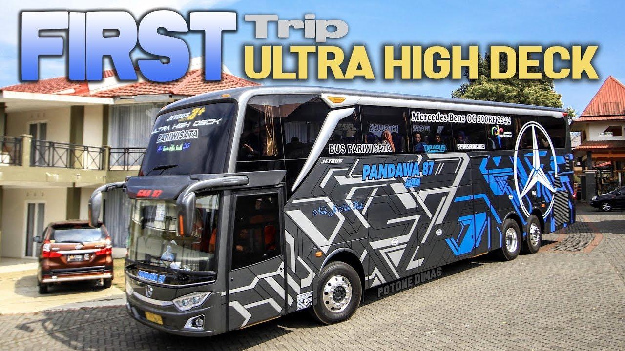 WOW Tarif Sewanya  First Trip Ultra High Deck Pandawa10 Pariwisata ke Jatim