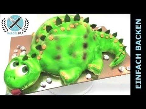 Dinosaurier 3d Airbrush Torte Dino Cake Kinder Geburtstagstorte
