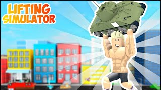 I'm probably the latest one left, the lifting simulator Roblox.