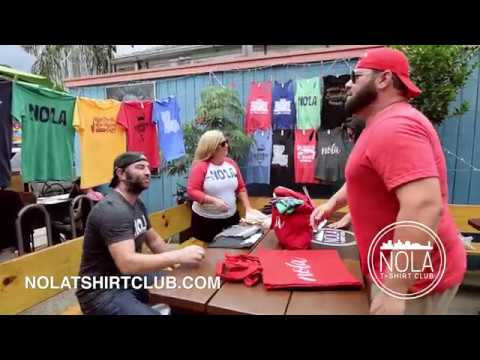 NOLA T-SHIRT CLUB - Magazine Street Art Market