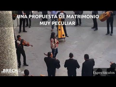 Una propuesta de matrimonio muy peculiar en SLP