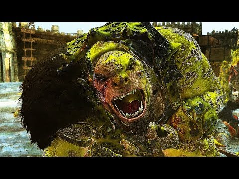 Shadow of War - HIGH Level 500 Feral Castle + Overlord 60 lvl Boss Battle