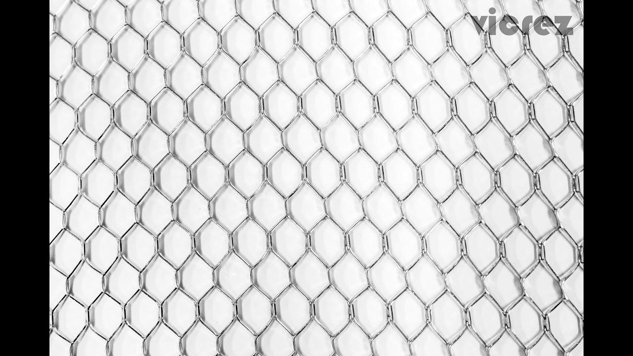 Vicrez Universal Bumper Wire Grille Diamond Silver Mesh Grill ...