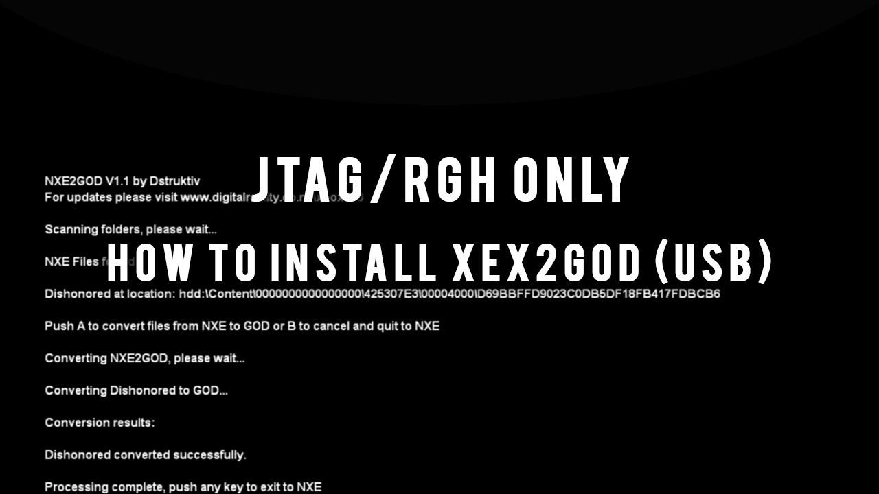 TÉLÉCHARGER NXE2GOD 1.2