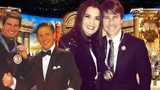 Tom Cruise Brings His Scientology Medal Out Of The Closet