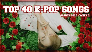 Gambar cover (TOP 40) K-Ville Staff's K-pop Songs Chart - March 2020 (Week 2)