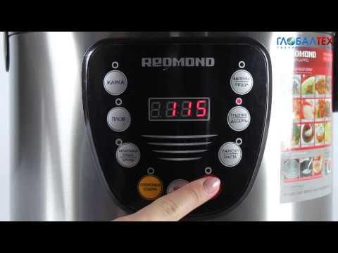 Видеообзор мультиварки Redmond RMC-M4515