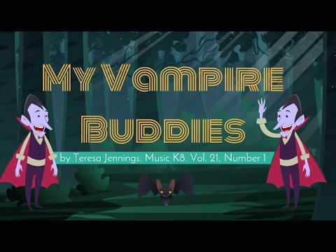 Vampire Buddies Lyric Video with Animation