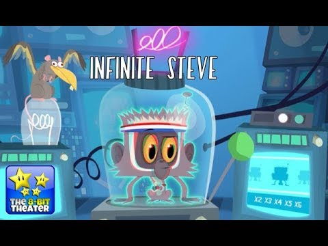 Cloudy With a Chance of Meatballs - INFINITE STEVE [Cartoon Network Games]