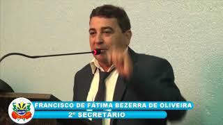 Zé de Fátima (Bidó) Pronunciamento Câmara de Quixeré - 09-03-2018