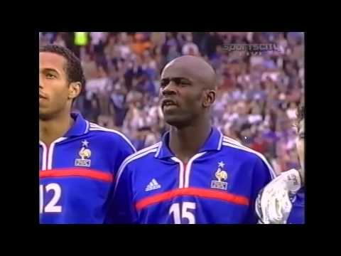 zidane chantait la marseillaise