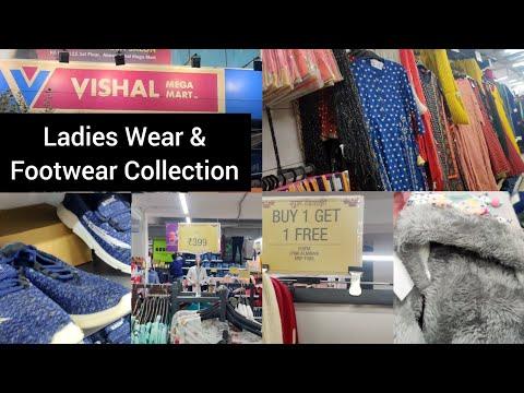 Vishal Mega Mart Latest Ladies Wear & Footwear Collection | Vishal Maga Mart Diwali Dhamaka Offer