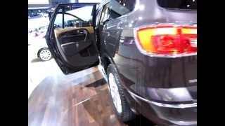 The 2013 Buick Enclave Luxury SUV...