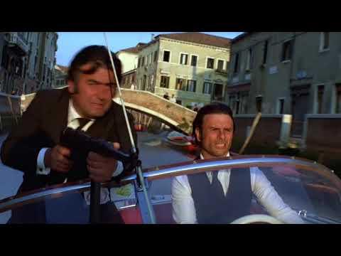 MOONRAKER   Bond drives the gondola through Mark's Square