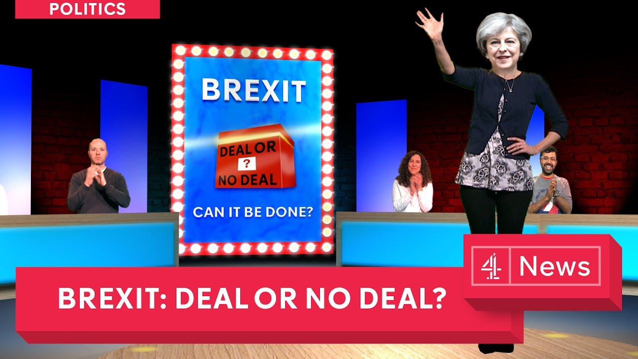 deal or no deal the brexit edition youtube