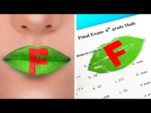 FUN FRESH SCHOOL HACKS || DIY Crazy Sneaky Tricks! Cool Situations And Crafts Tips By 123 GO! BOYS