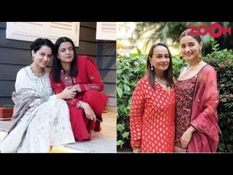 Kangana Ranaut's sister Rangoli ATTACKS Alia Bhatt and mom Soni Razdan