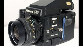 Mamiya 645 Super Overview and Tutorial