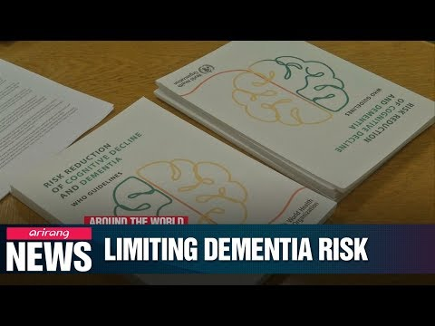 WHO recommends steps to limit risk of Dementia