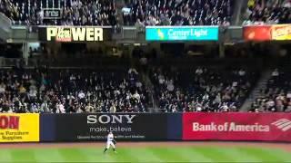 MLB イチロー トリックプレー 打者走者を二塁で刺す Ichiro 20130504