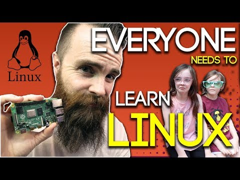 EVERYONE needs to learn LINUX - ft. Raspberry Pi 4