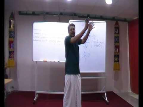 Saiva Siddhantham 2016 - Thiruvarutpayan Lesson 5 Part 1 - 4th June 2016