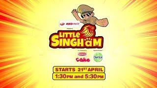 Küçük Singham | Resmi Şarkısı – Polis Vardi Ki Sher Ka Dum | Çocuklar Karikatür @DiscoveryKidsİndia