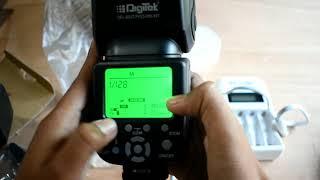 Unboxing Best digitek flash speedlight at lowest price