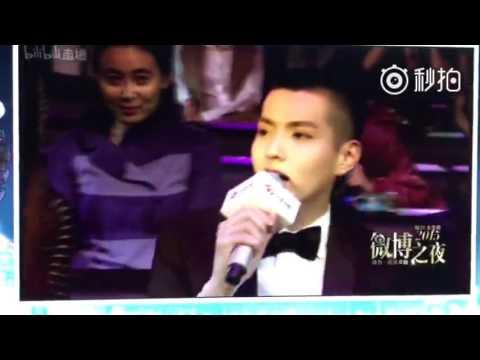 160107 Kris Wu impromptu rap with Da Peng and Xu Zheng