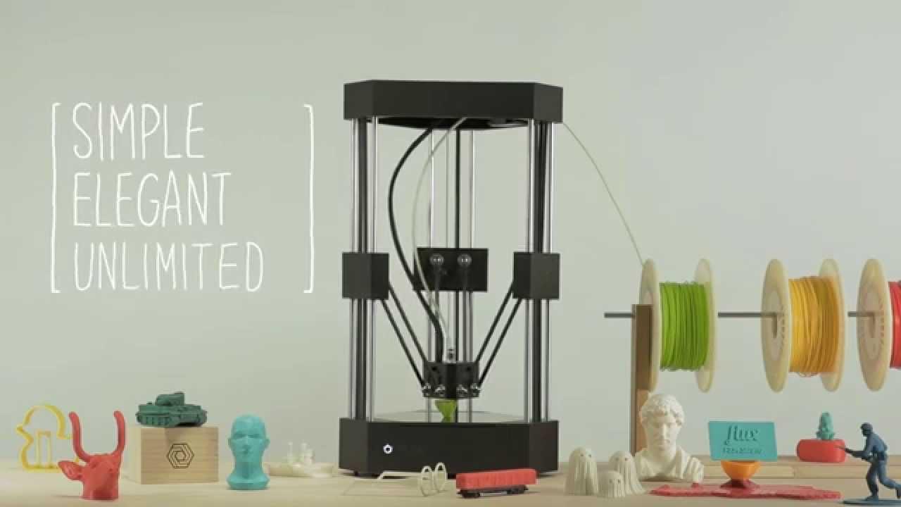 FLUX Delta: All-in-One 3D Printer